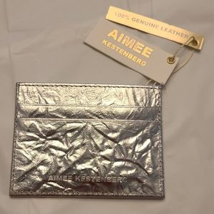 Aimee Kestenberg leather card holder
